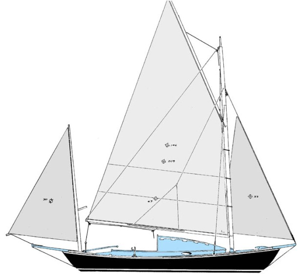 wooden yawl plans